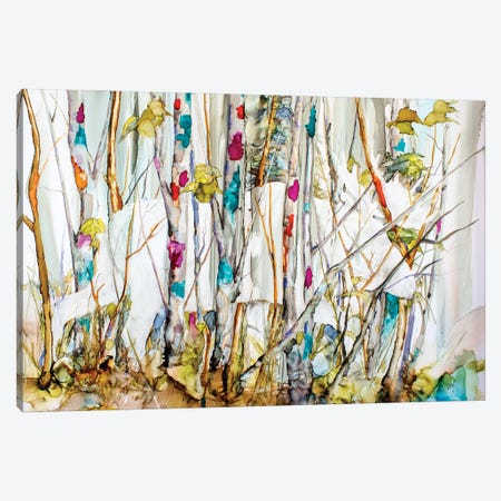 They Walk Among Us Canvas Print #LSF67} by Art by Leslie Franklin Canvas Art