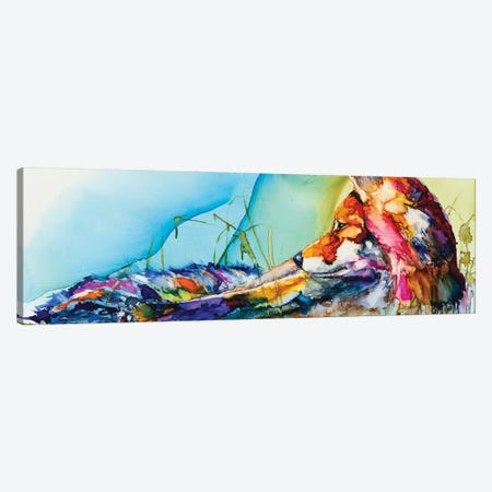 Thinking Outside the Fox Canvas Print #LSF68} by Art by Leslie Franklin Canvas Print