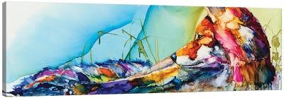 Thinking Outside the Fox Canvas Art Print