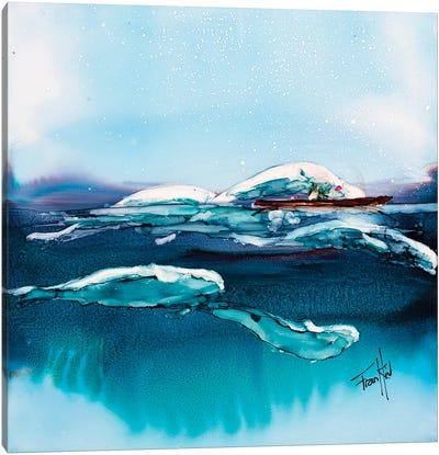 Beluga Escort Canvas Art Print