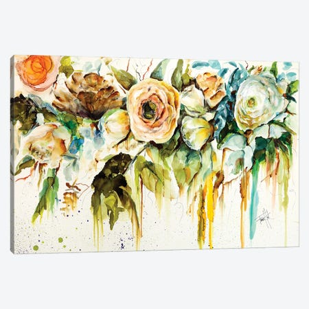 Zen Garden Canvas Print #LSF76} by Art by Leslie Franklin Canvas Print