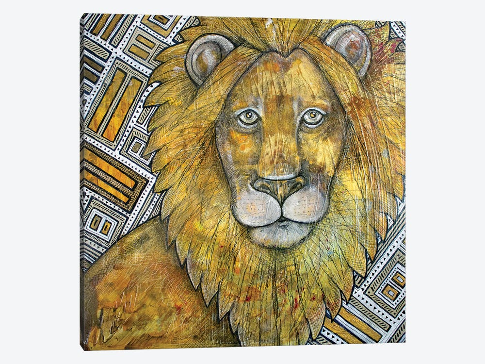 The King by Lynnette Shelley 1-piece Canvas Print