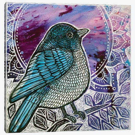 Twilight Blues Canvas Print #LSH111} by Lynnette Shelley Art Print