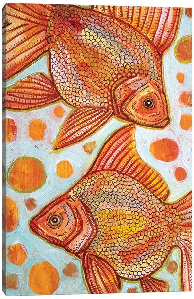 Two Goldfish Canvas Art Print