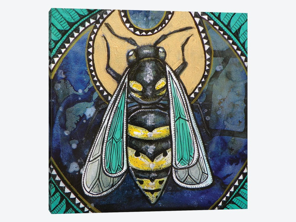 Wasp Totem by Lynnette Shelley 1-piece Art Print