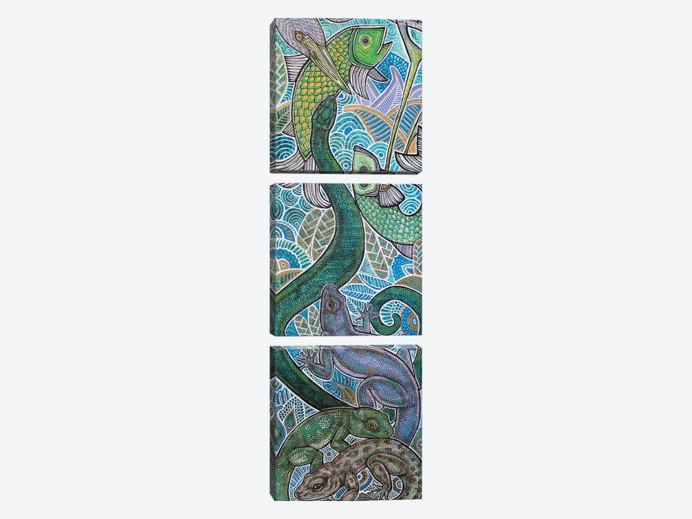Zoological by Lynnette Shelley 3-piece Canvas Art Print
