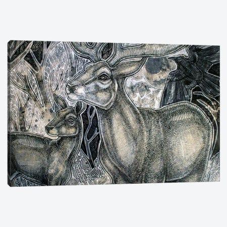 Enchanted Woodlands Canvas Print #LSH155} by Lynnette Shelley Canvas Artwork