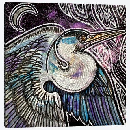 Evening Flight Canvas Print #LSH156} by Lynnette Shelley Canvas Artwork