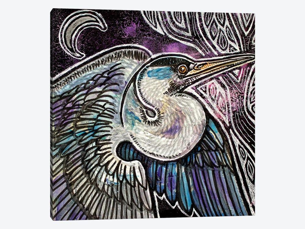 Evening Flight by Lynnette Shelley 1-piece Canvas Print