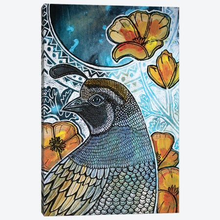California Quail Canvas Print #LSH15} by Lynnette Shelley Canvas Print