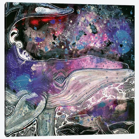 Navigating The Sea Of Stars 3-Piece Canvas #LSH160} by Lynnette Shelley Canvas Artwork