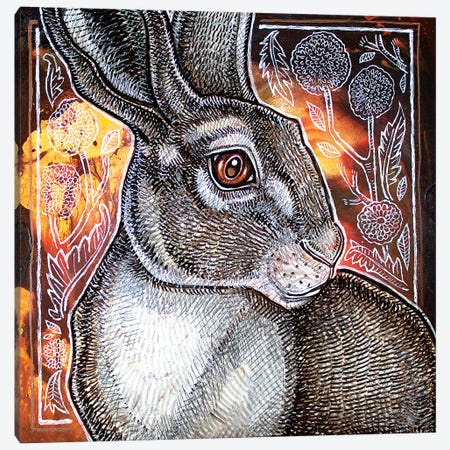 Spring Fever Canvas Print #LSH163} by Lynnette Shelley Canvas Artwork