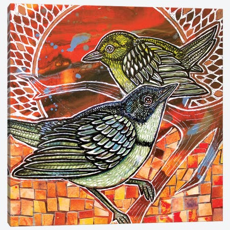 The Sun It Rises Canvas Print #LSH165} by Lynnette Shelley Canvas Print