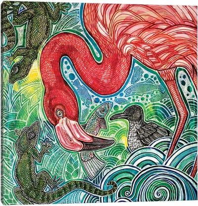 Tropical Daydream Canvas Art Print