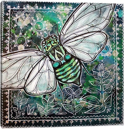 Cicada Summer Canvas Art Print