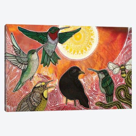 Garden Party Canvas Print #LSH185} by Lynnette Shelley Canvas Art Print