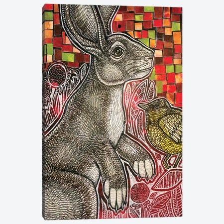 Young Rabbit Canvas Print #LSH192} by Lynnette Shelley Canvas Art Print