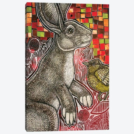 Young Rabbit Canvas Print #LSH192} by Lynnette Shelley Canvas Art Print