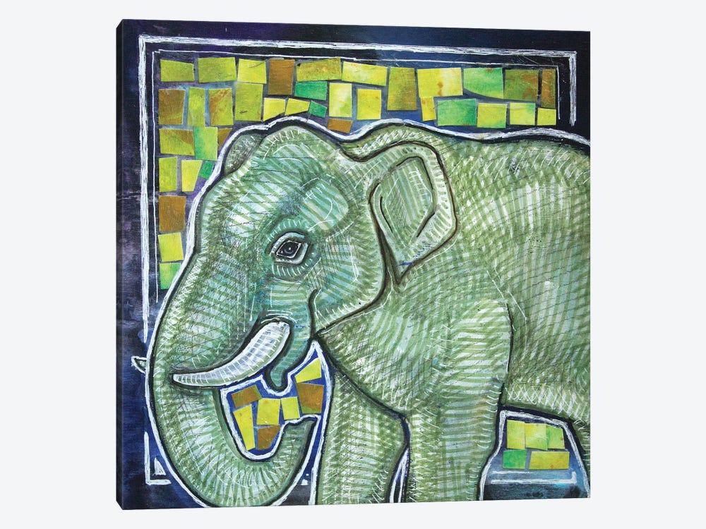 Elephant In The Room by Lynnette Shelley 1-piece Art Print