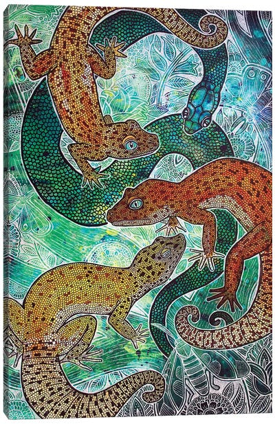 Convergence Canvas Art Print