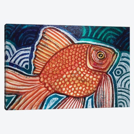 Little Fish Canvas Print #LSH202} by Lynnette Shelley Art Print