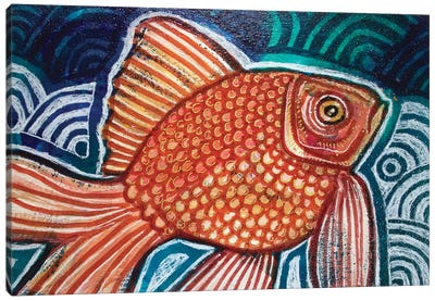 Little Fish Canvas Art Print