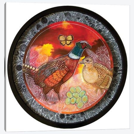 Pheasant Song Canvas Print #LSH205} by Lynnette Shelley Canvas Artwork