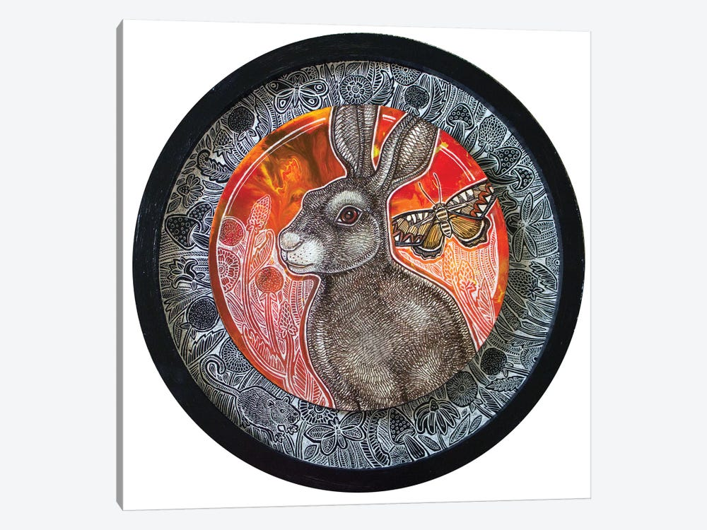 Rabbit Song by Lynnette Shelley 1-piece Canvas Wall Art