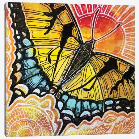 Swallowtail Canvas Print #LSH209} by Lynnette Shelley Art Print