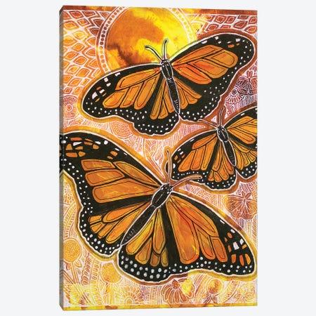 Last Flight Of Summer Canvas Print #LSH213} by Lynnette Shelley Canvas Artwork