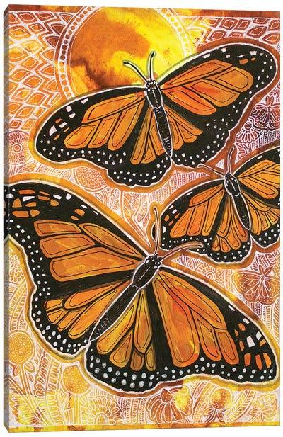 Last Flight Of Summer Canvas Art Print