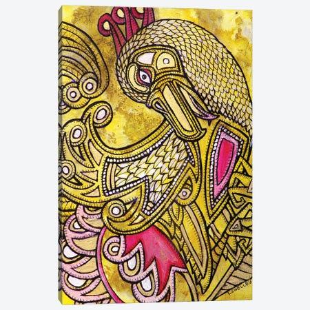 Dancing Bird Canvas Print #LSH21} by Lynnette Shelley Canvas Print