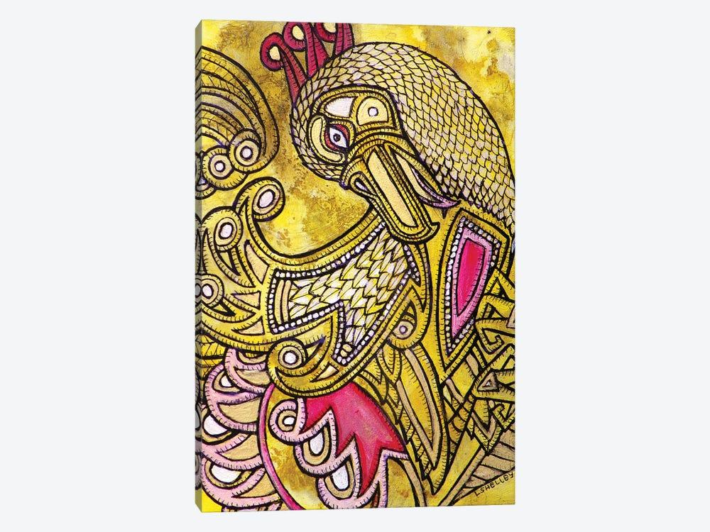 Dancing Bird by Lynnette Shelley 1-piece Canvas Art