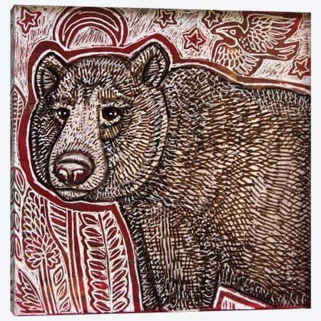 Wandering Bear Canvas Print #LSH225} by Lynnette Shelley Canvas Art