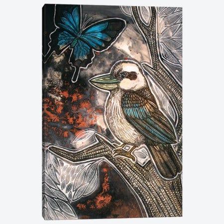 Cry, Kookaburra Canvas Print #LSH237} by Lynnette Shelley Canvas Print