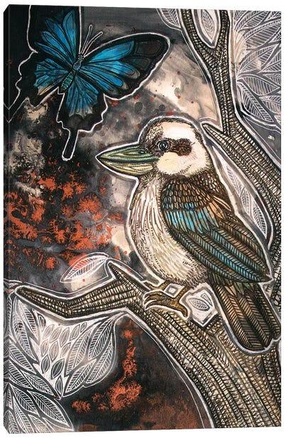 Cry, Kookaburra Canvas Art Print