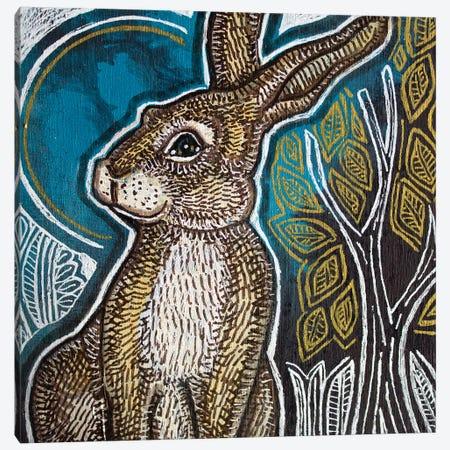 Little Rabbit Canvas Print #LSH250} by Lynnette Shelley Canvas Art