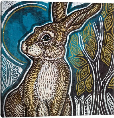 Little Rabbit Canvas Art Print
