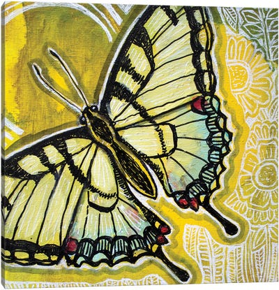 Sunny Swallowtail Canvas Art Print