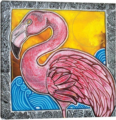 In The Pink Canvas Art Print