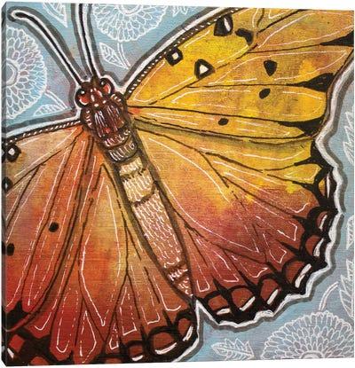 Little Moth Canvas Art Print