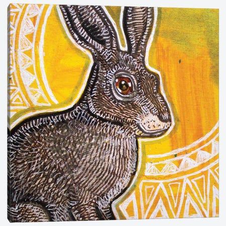 Sun Rabbit Canvas Print #LSH285} by Lynnette Shelley Canvas Wall Art