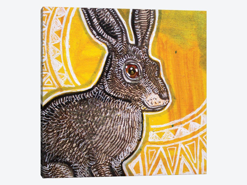Sun Rabbit by Lynnette Shelley 1-piece Canvas Print