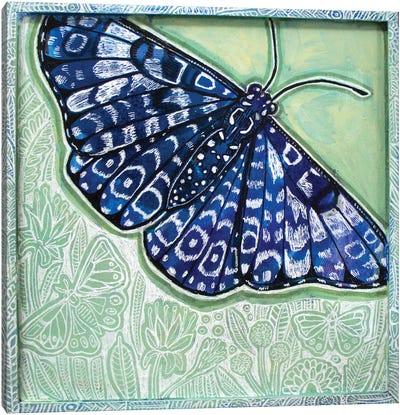 Summer Blues Canvas Art Print
