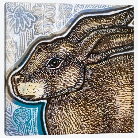 Brown Bunny Canvas Print #LSH296} by Lynnette Shelley Art Print