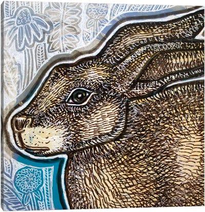 Brown Bunny Canvas Art Print