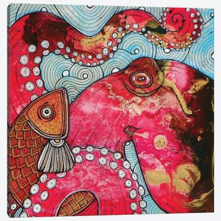 El Pulpo Canvas Print #LSH29} by Lynnette Shelley Canvas Print