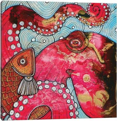 El Pulpo Canvas Art Print