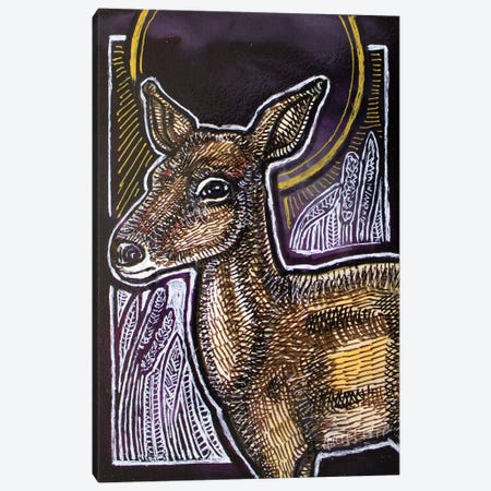 Oh! Deer Canvas Print #LSH303} by Lynnette Shelley Canvas Wall Art
