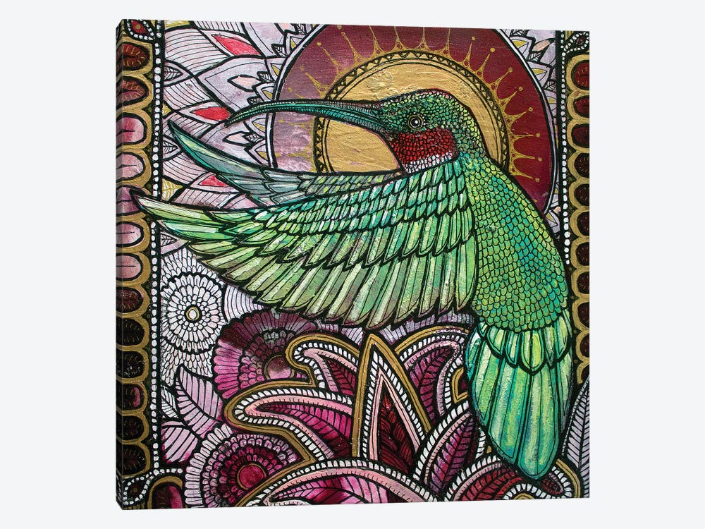Flight Of The Hummingbird by Lynnette Shelley 1-piece Art Print